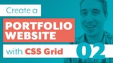 How to create a Portfolio Website with CSS Grid &amp Sass Part 2 Variables and basic styles