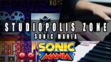 Sonic Mania Studiopolis Zone (Act 1) Cover Mohmega