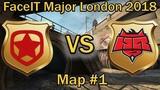 ГАМБИТ в ПОТНЕЙШЕЙ ЗАРУБЕ против HR Gambit vs Hellraisers de_overpass bo1 RU FaceIT Major