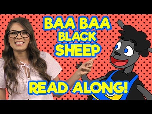Read Aloud Baa Baa Black Sheep - ReadAlong with Ms. Booksy | A Cool School Nursey Rhyme