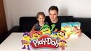 Плей До пластилин, набор Доктор Зубастик Играем в стоматолога Play Doh Для Детей Детский канал