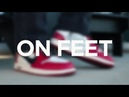 Off-White x Air Jordan 1 —ON FEET