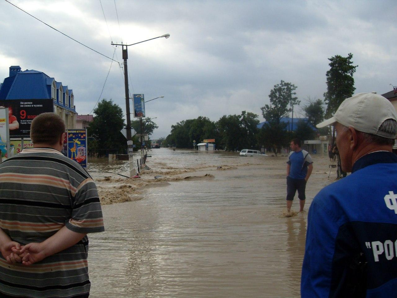 Наводнение на Кубани 2