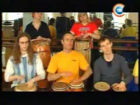 Сталкер СТВ 2008 Елена Суслова в Минске Семинар по игре на барабанах