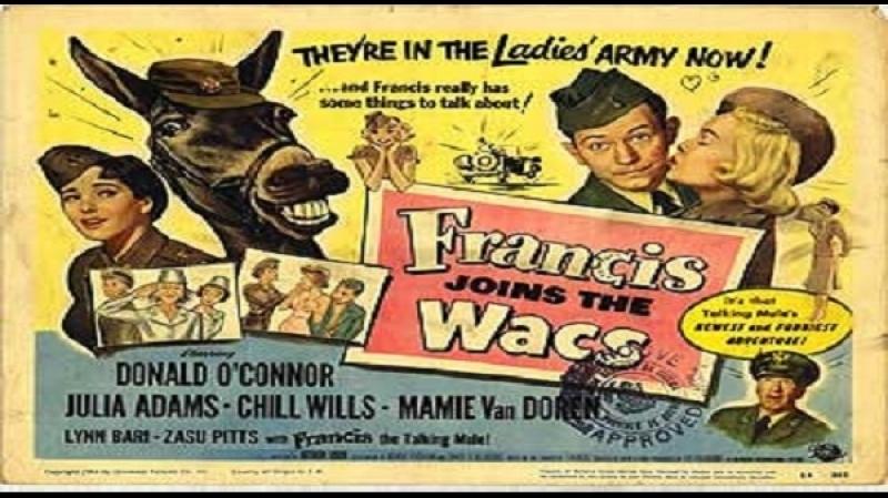 1954 Francis Joins The Wacs - Arthur Lubin - Donald OConnor, Julie Adams, Chill Wills
