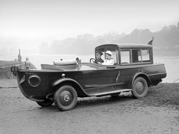 Амфибия Peugeot 1925 г.