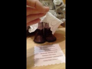 Видеообзор куколки ручной работы