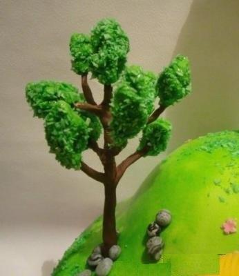 Дерево на мастике мастер класс