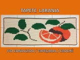 Tapete Laranja - Fio conduzido tape