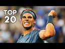 Rafael Nadal ● Top 20 Points in New York
