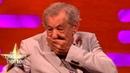 Sir Ian McKellen Dame Judi Dench Sat In The Queen's Throne! The Graham Norton Show