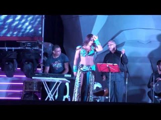 Alla Kushnir belly dance show with Saleh Heby life band 2014