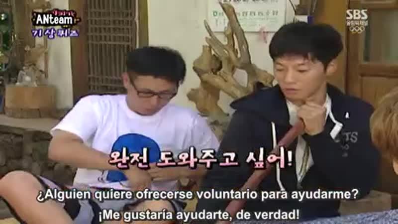 FO Ep. 10 (Invitado JuJin Shinhwa) parte 3 - 5 (sub español)