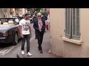 Karl Lagerfeld in Saint Tropez