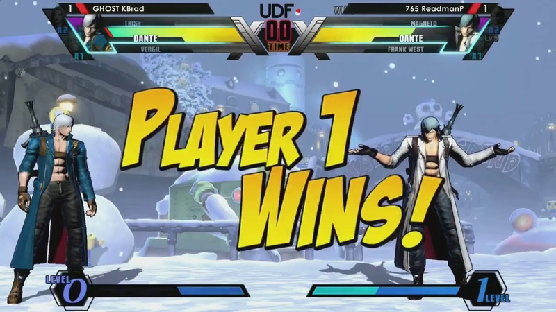 Undefeated 2018 UMVC3 Top 8