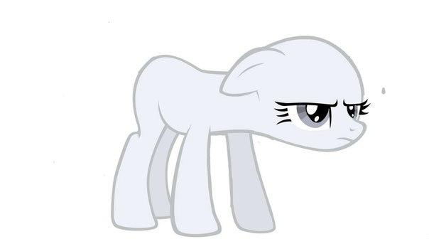 пони без волос фото