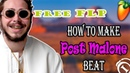 FREE FLP | How to make Post Malone type beat In Flstudio | Tutorial