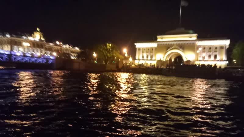 Развод мостов Санкт Петербург