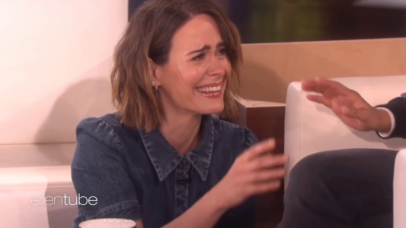 6 Minutes of Sarah Paulson Getting Scared on Ellen