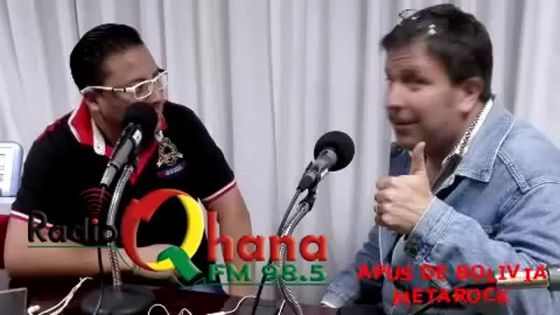 ¿QUÉ ES EL METAROCK? ENTREVISTA A APUS DE BOLIVIA EN RADIO QHANA