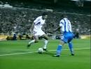 Реал Мадрид 3-0 Депортиво . Чемпионат Испании 2000-2001. 5 тур