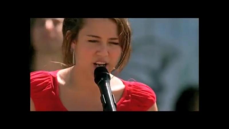 Disney_Espa_a_Escena_de_The_Climb_Hannah_Montana