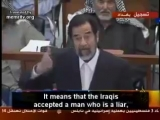 SADDAM HUSSIEN LAST SPEECH ON HIS TRIAL - DEATH BY HANGING