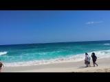 Beach , Paradise Island , Bahamas April 2018