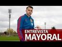Mayoral: Quiero triunfar en el Madrid y en la Selección