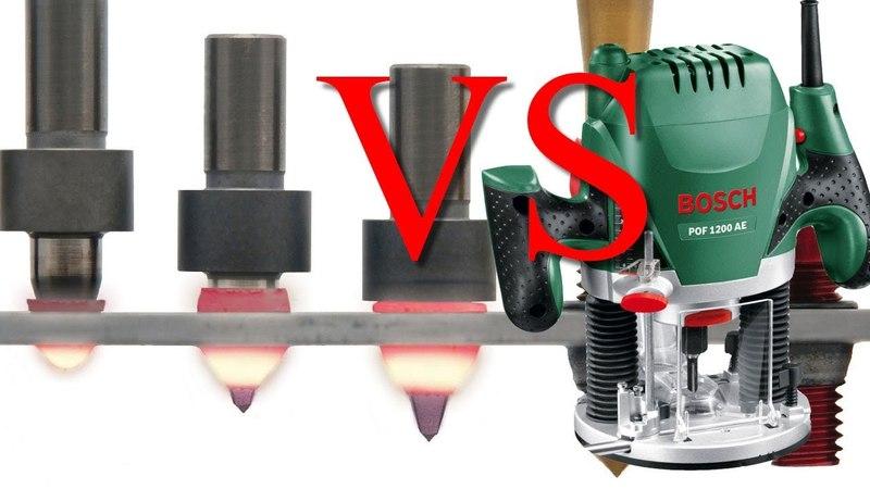Термосверление сталь vs ручной фрезер (часть 2 из 2)