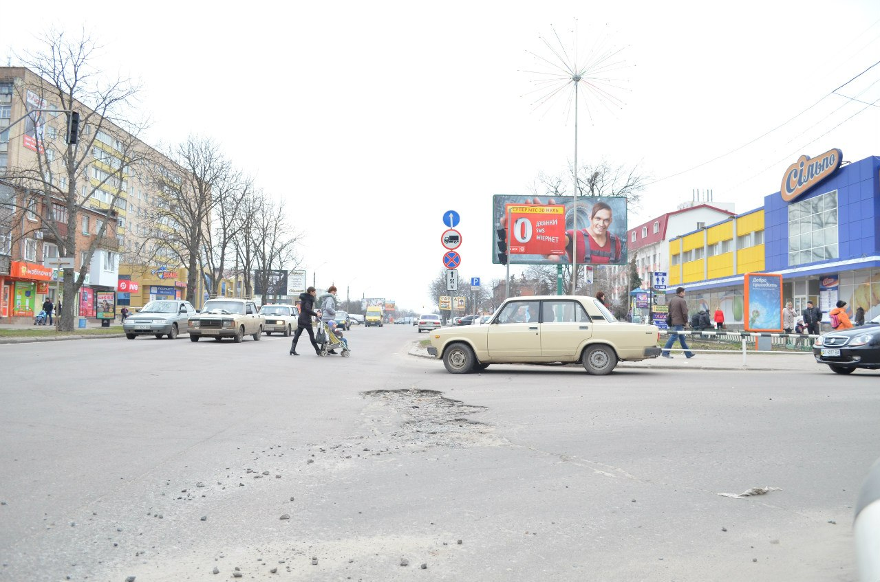 Дороги в Миргороді