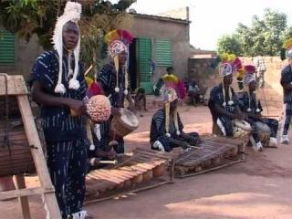 Burkina Faso Drum and Balafon