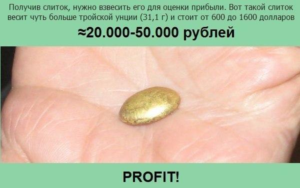 Добываем золото дома