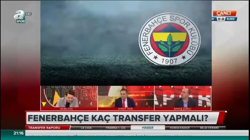 Fenerbahçe Transfer Raporu - Savaş Çorlu, Okan Koç Yorumları