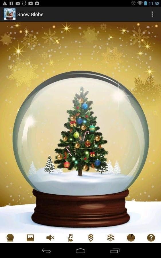 Christmas Snow Globe для Андроид