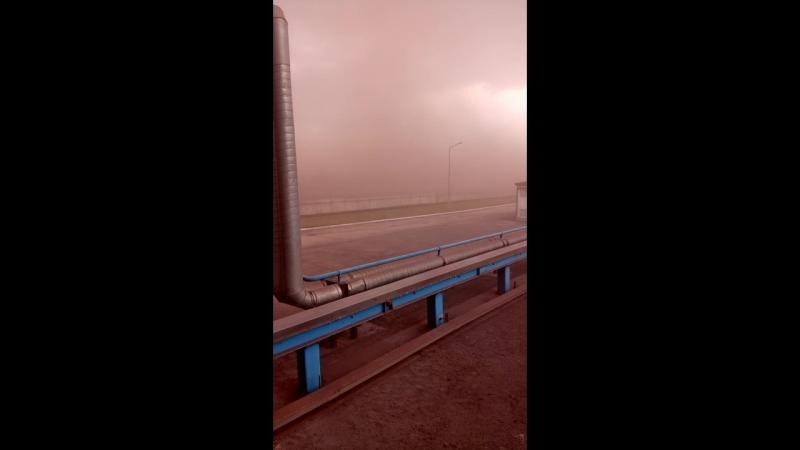 Песчаная буря в Челябинске
