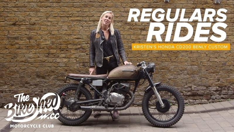 Regulars Rides - Kristen's Honda CD200 Benly Custom