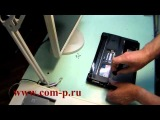 How to disassembly Asus K42D notebook. Разборка ноутбука Asus k42D.