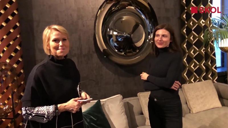 Интервью с Клод Картье (Claude Cartier) во время дизайн-тура SKOL во Францию, март 2018