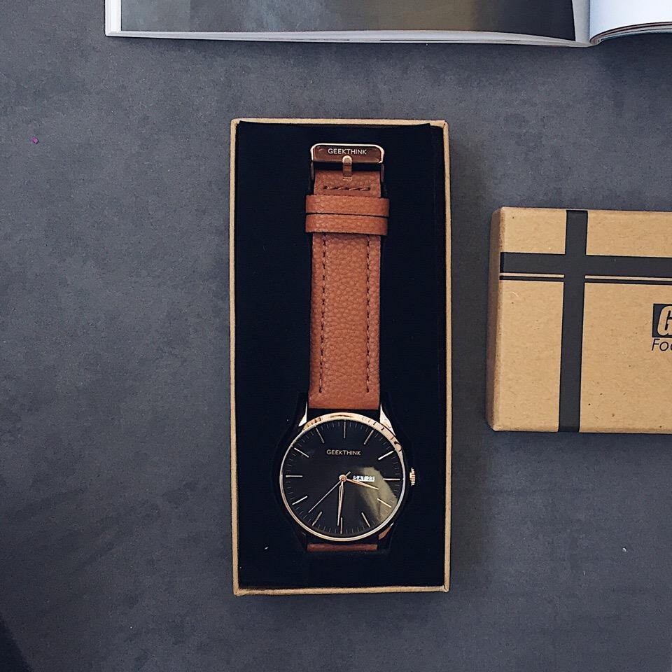 Уже не знаю какие по счету мужские часы от крутого магазина Geekthink Official Store