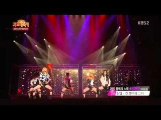 KBS Song Festival Dance Symphony - KARA Hara & Jiyoung 131227