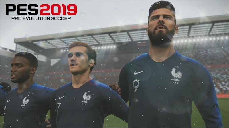 Pro Evolution Soccer 2019 - France Vs Argentine - Gameplay FR