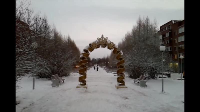 Главная елка Оленегорске.