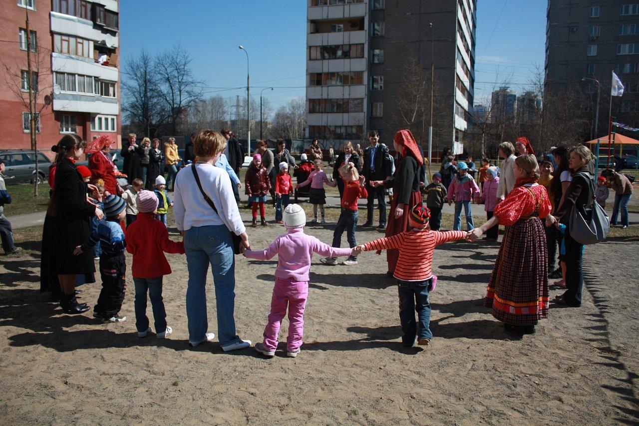 организация празднико во дворах