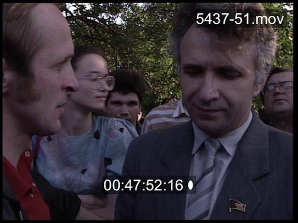 Москва Митинг в Лужниках в поддержку Сахарова 06 06 89