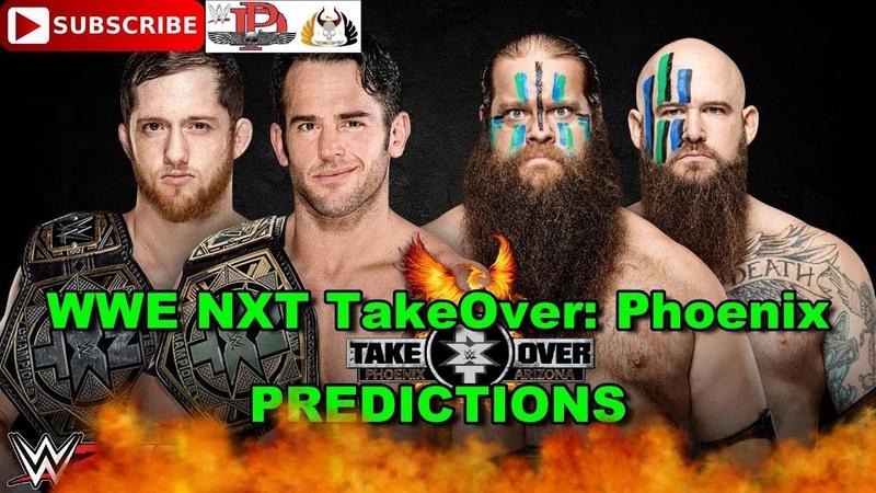 WWE NXT TakeOver Phoenix NXT Tag Team Championship The Undisputed ERA vs. The War Raiders WWE 2K19