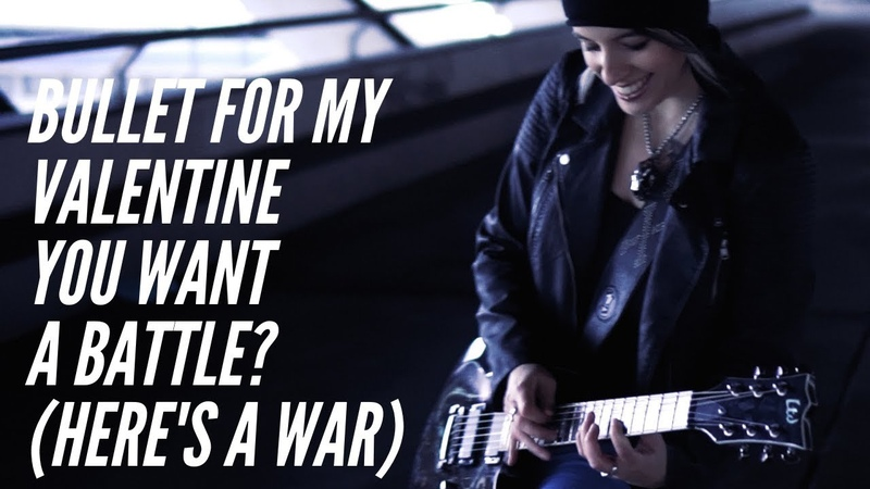 Bullet For My Valentine - You Want a Battle? (Here's a War) Guitar Cover [4K / MULTICAMERA]