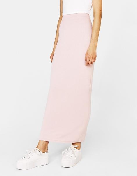 Длинная юбка А-силуэта