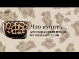 Что купить: леопардовые вещи на каждый день