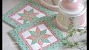 Patchwork Lemoyne Star - vzor Hvězda Welcome Home Fabrics